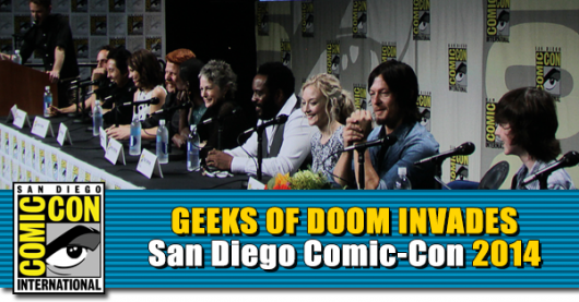 SDCC 2014: The Walking Dead Panel