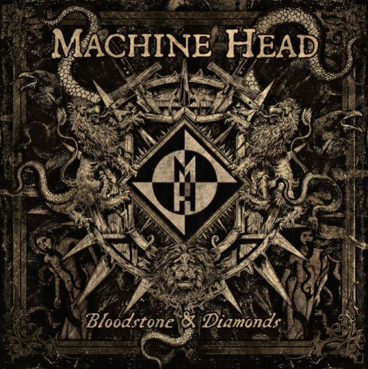 Machine Head Bloodstone and Diamonds Album Cover