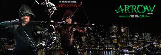 Arrow Arsenal Season 3 Promo banner