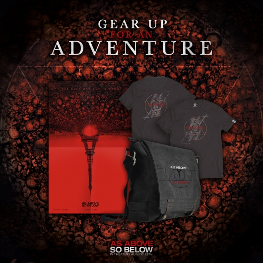 As Above, So Below prize pack