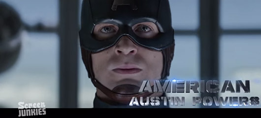 Captain America: The Winter Soldier Honest Trailer American Austin Powers