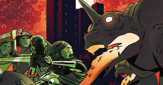 Dark Ages #1 review header