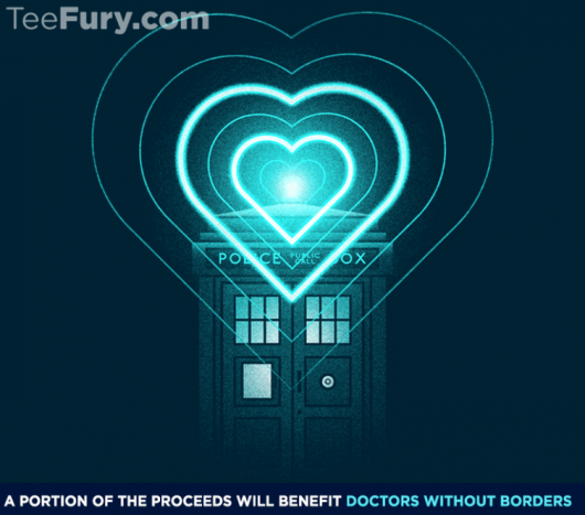 Doctor Who Doctor Without Borders Shirt
