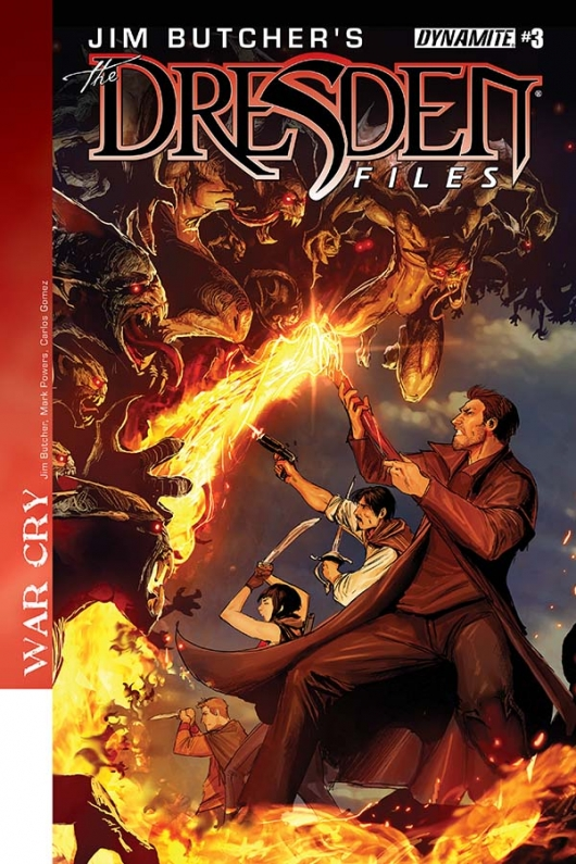 The Dresden Files: War Cry #3 cover
