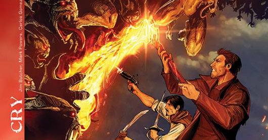 The Dresden Files: War Cry #3 review header