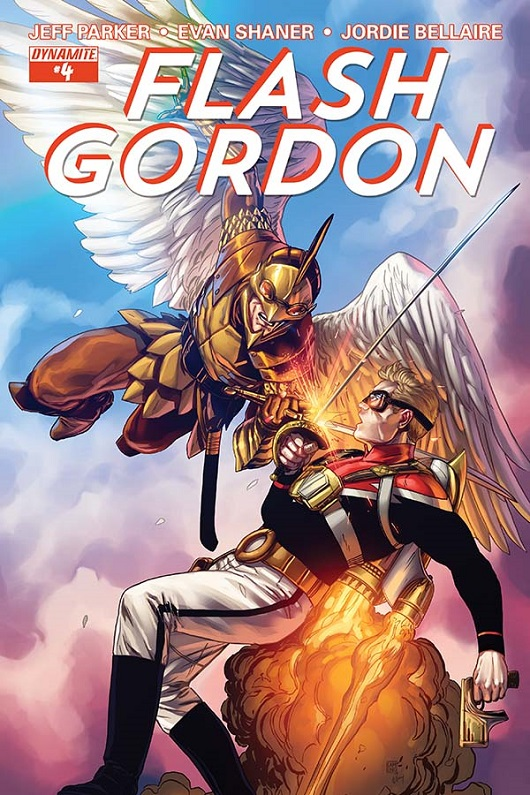 Flash Gordon #4 Cover by Marc Laming