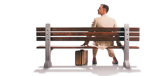Forrest Gump Tom Hanks banner