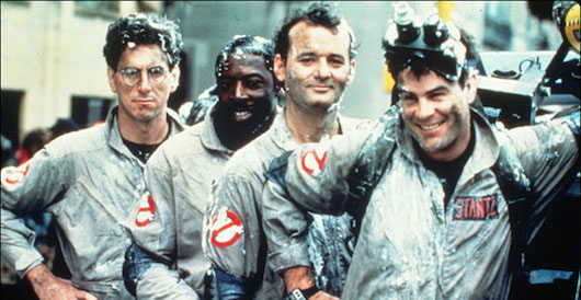 Ghostbusters Cast Banner