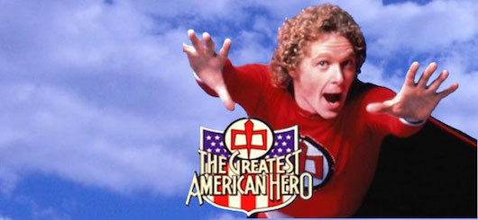 Greatest American Hero Logo Banner