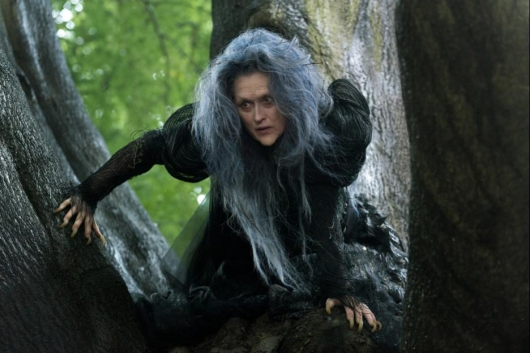 Into The Woods film Meryl Streep Blu-ray Releases