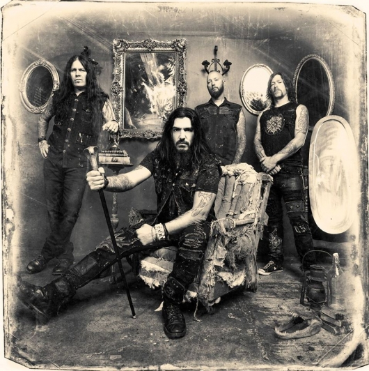 Machine Head Band Photo Sepia 2014