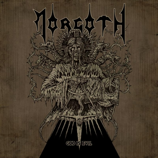 Morgoth God Is Evil Album Cover