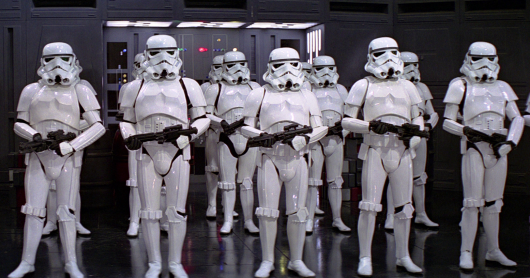 Star Wars A New Hope stormtroopers