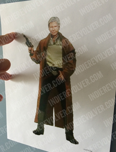 Star Wars Episode VII han solo concept art trench coat