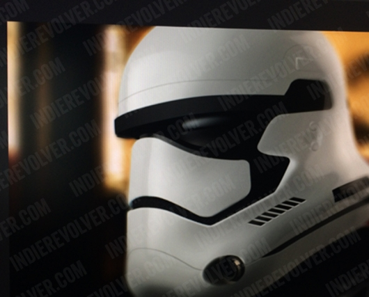 Star Wars Episode VII stormtrooper snowtrooper