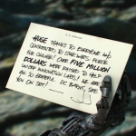 Star Wars Force For Change contest JJ Abrams Thank You Note
