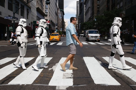 Subway Star Wars Jared Stormtroopers Abbey Road