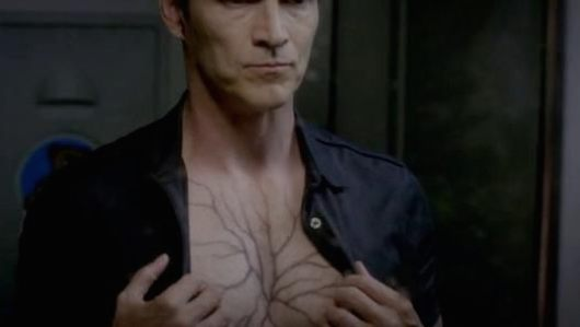 True Blood Bill Hep V veins