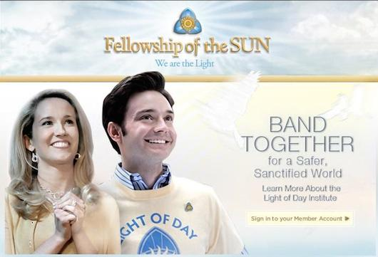 True Blood Fellowship of the Sun Ad Steve Sarah Newlin