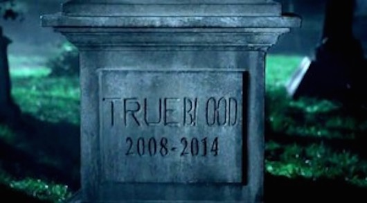 True Blood Headstone Banner