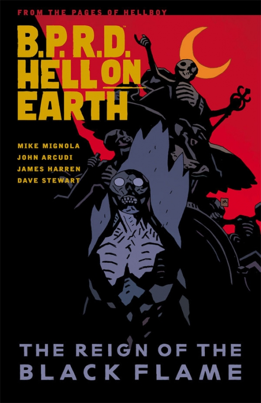 B.P.R.D. Hell on Earth, Volume 9: The Reign Of The Black Flame cover