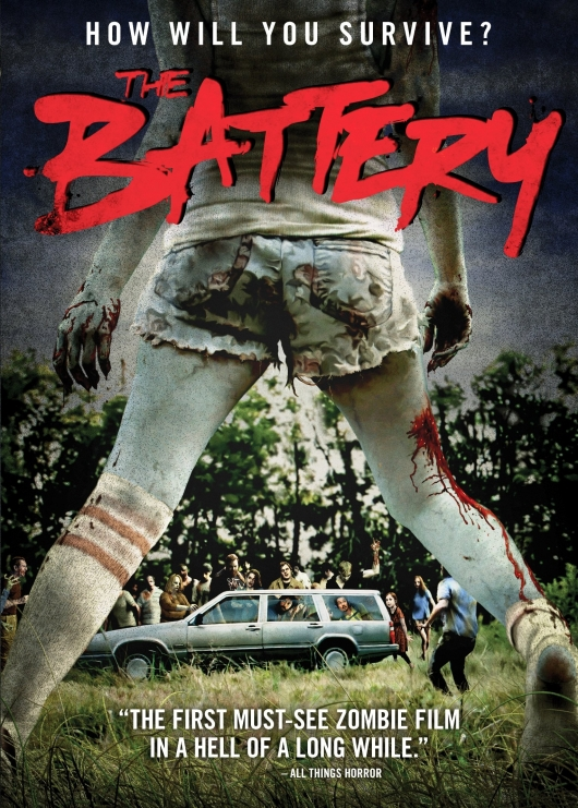The Battery Cover Art from Scream Factory