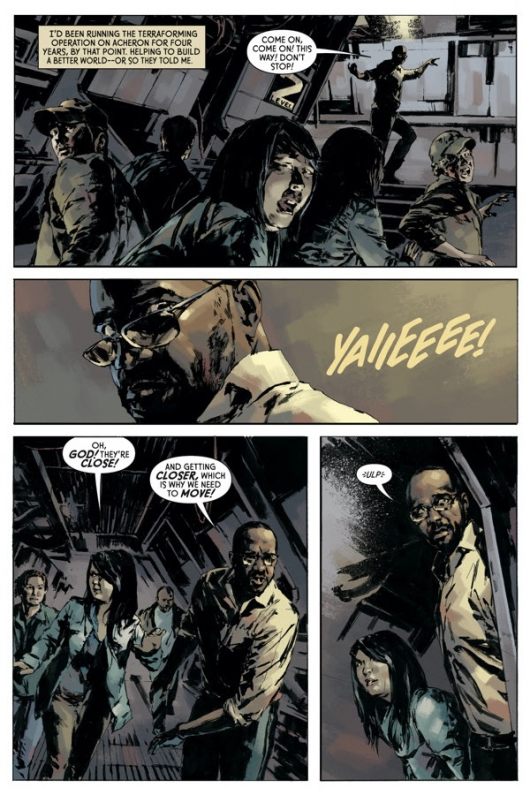 Aliens: Fire and Stone #1 preview page 2