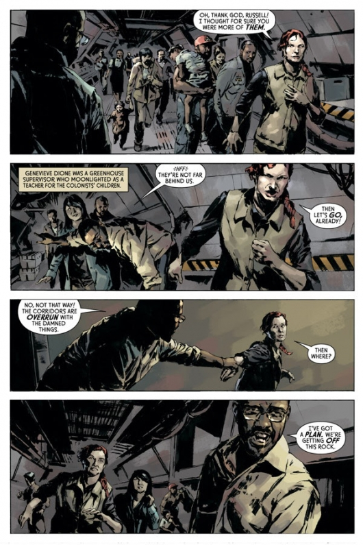 Aliens: Fire and Stone #1 preview page 3