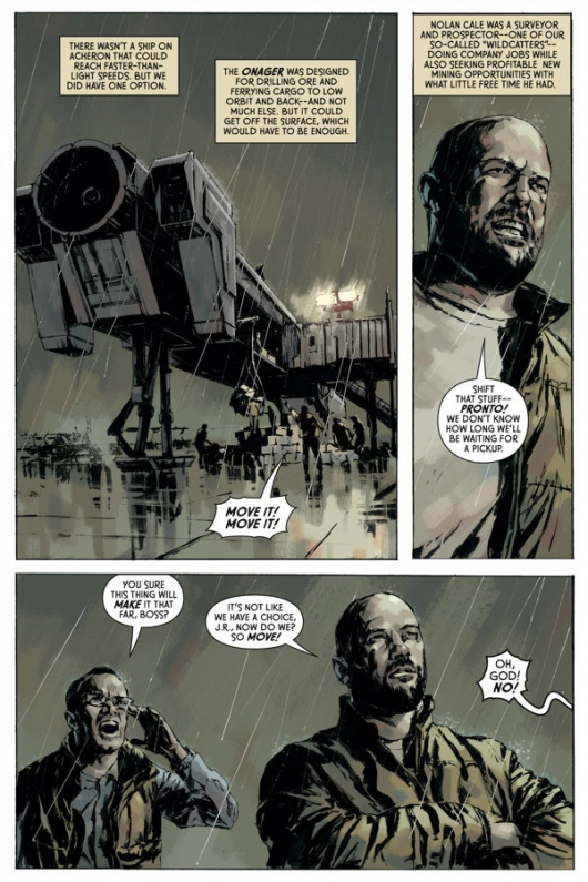 Aliens: Fire and Stone #1 preview page 4