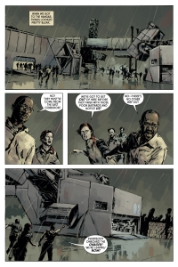 Aliens: Fire and Stone #1 preview page 6