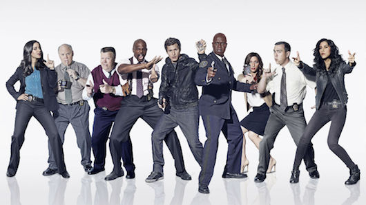 Brooklyn Nine-Nine Season 2 Cast Photo Pose