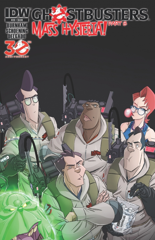 Ghostbusters #20 cover