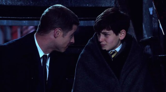 Gotham Young Bruce Wayne Jim Gordon