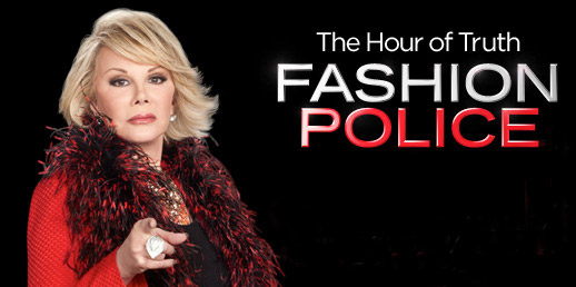 Joan Rivers Fashion Police