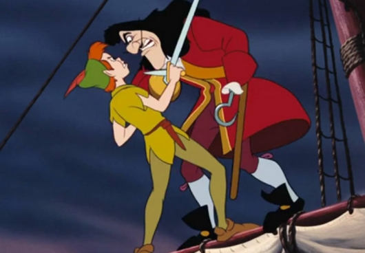 Peter Pan, Captain Hook Sword Fight