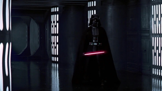 Darth Vader In The Death Star