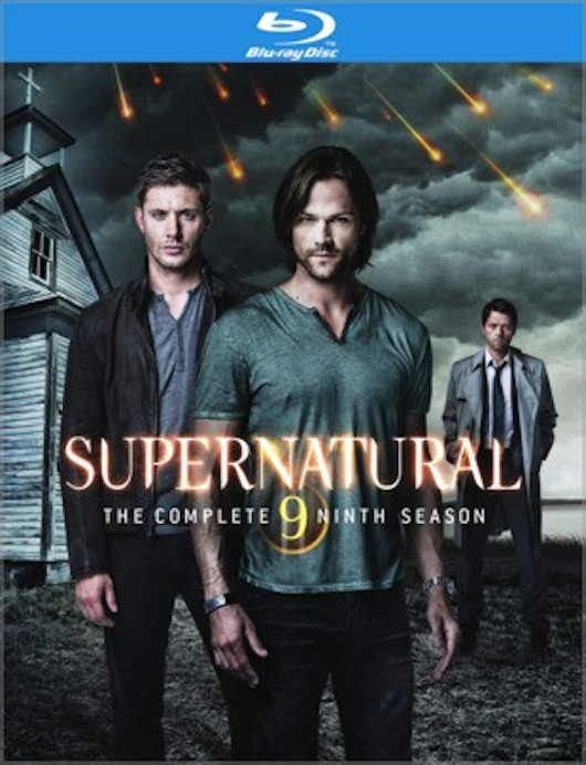 Supernatural The Complete 9 Ninth Season Blu-ray DVD Cover