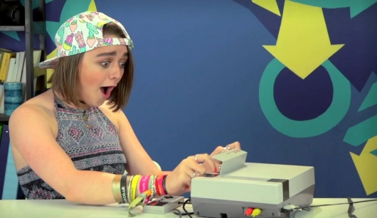 Teens React To Nintendo  --  Maisie Williams