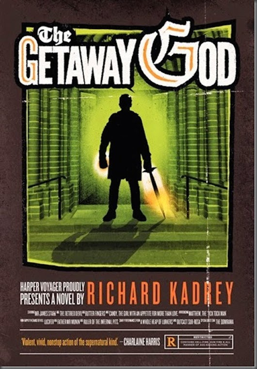 The Getaway God Richard Kadrey cover