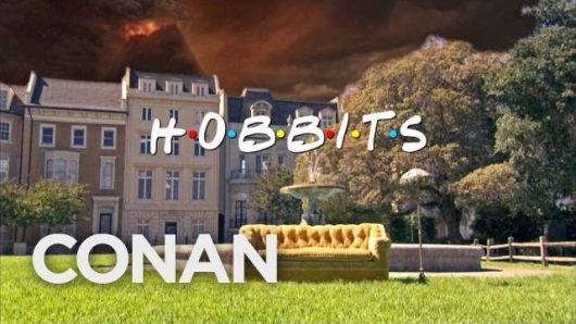 Conan Hobbit Friends mash-up