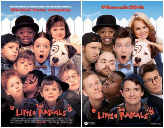 The Little Rascals Poster Recreation