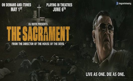 The Sacrament Logo Banner