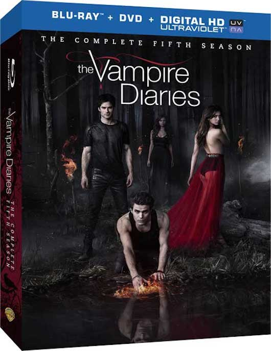 The Vampire Diaries S5 Blu-ray DVD Box