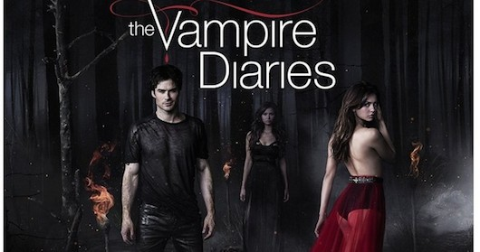 The Vampire Diaries Season 5 Blu-ray Cover