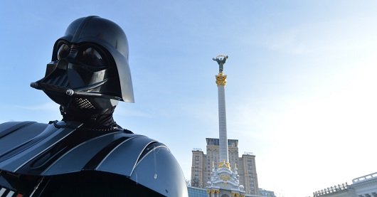 Darth Vader in Ukraine