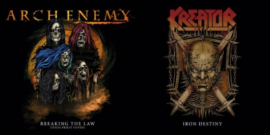 listen to arch enemy s cover of judas priest s breaking the law