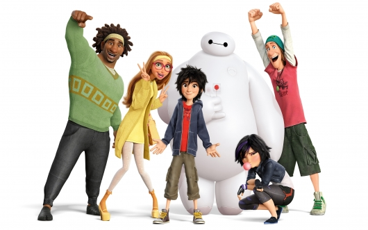 Big Hero 6 Character Header Image