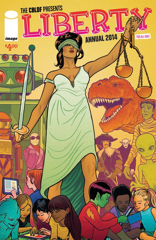 CBLDF Liberty Annual 2014 by Michael Allred