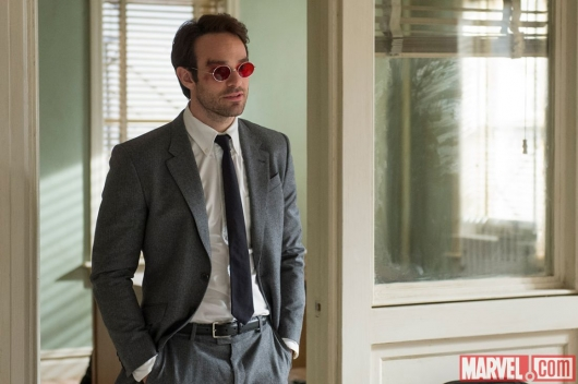 Charlie Cox as Matt Murdock in Marvel's Daredevil Netflix series