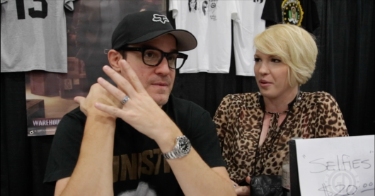 Eddie McClintock Interview Geeks of Doom